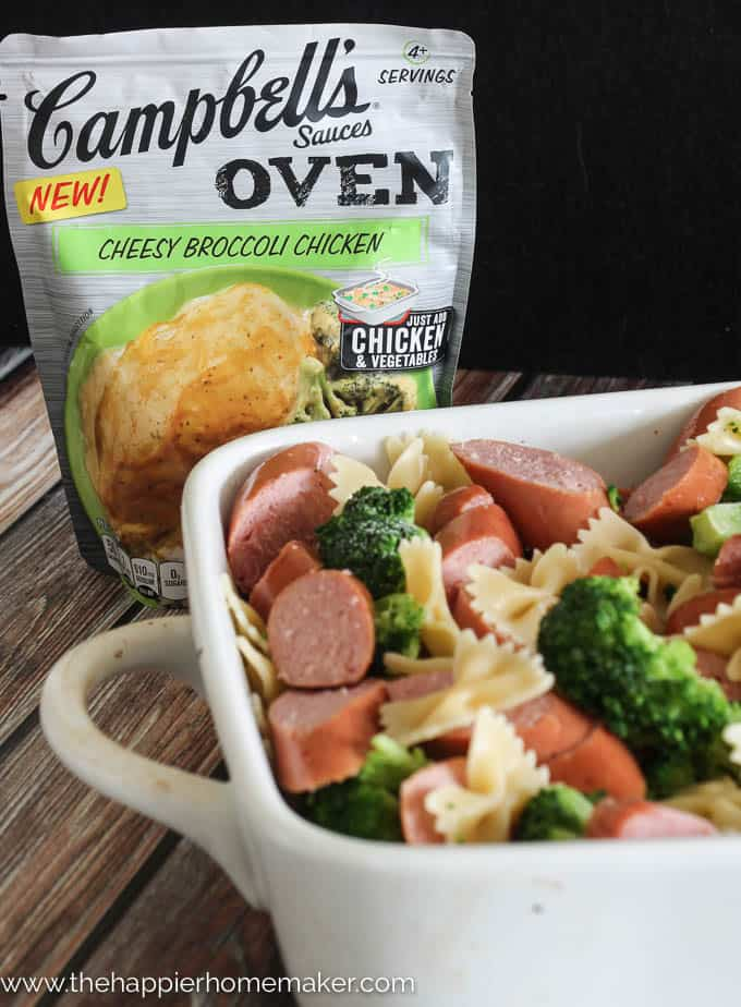 Campbell's® Sauces make weeknight meal prep easy!