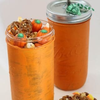 Harvest Honey Snack Mix Mason Jar Gift
