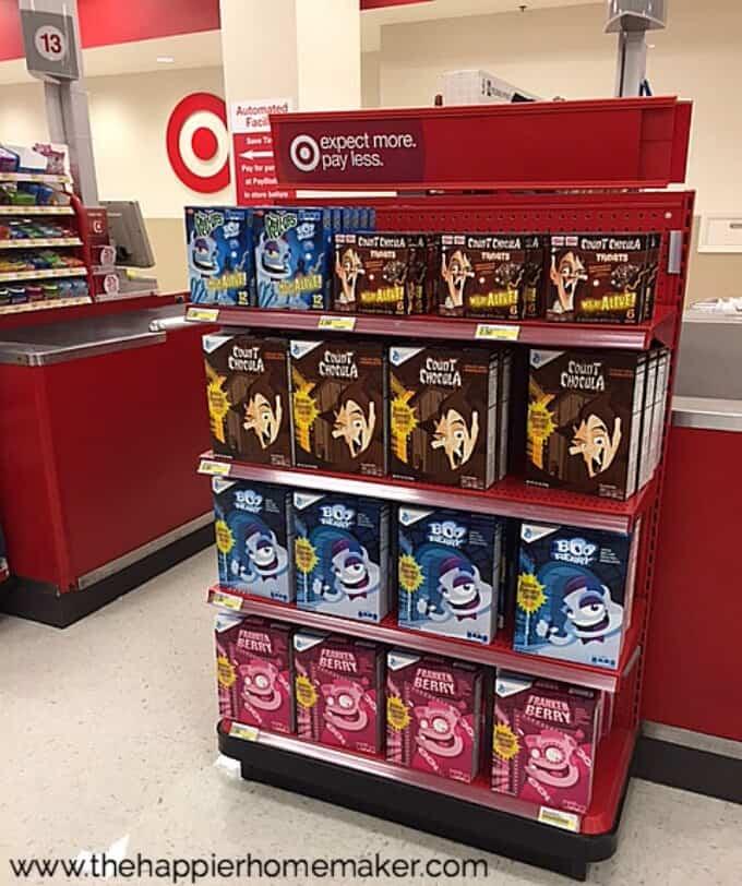 target monster cereal