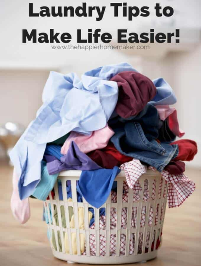 Laundry Tips to Make life Easier!