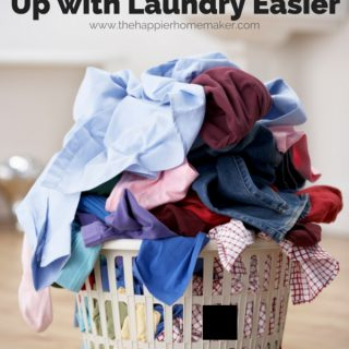 Tips to Make Keeping Up with Your Laundry Easier-great ideas here!