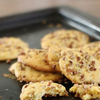 Chewy Pecan Toffee Cookies