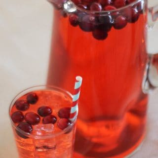 Easy Cranberry Punch