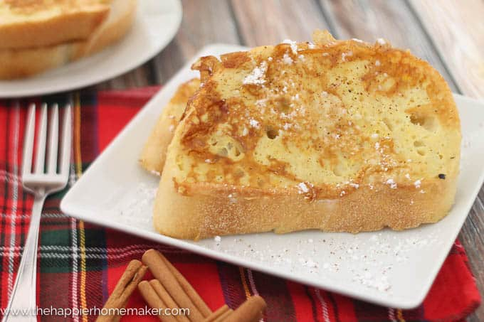 Eggnog French Toast Recipe-2