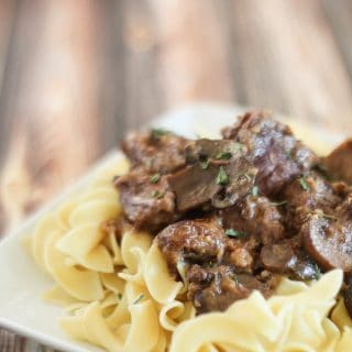 Slow Cooker Stroganoff Recipe