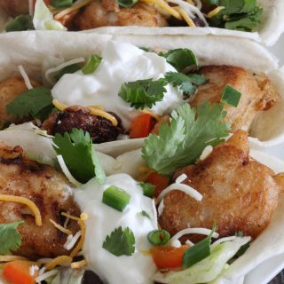 Beer Battered Southwest Chicken Bowls