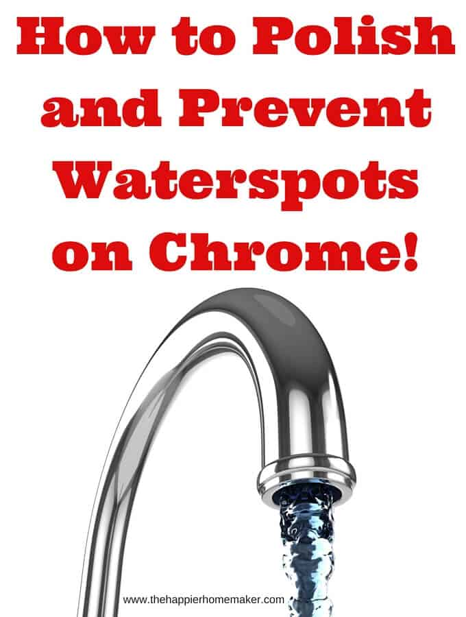 How to Polish and Prevent Waterspots on Chrome