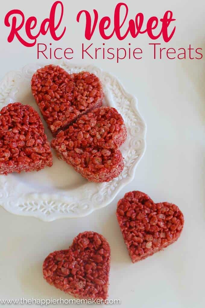 Red Velvet Rice Krispie Treats Recipe