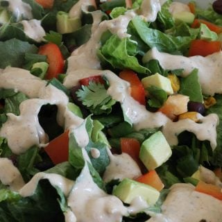 Southwest Salad with Taco Dressing