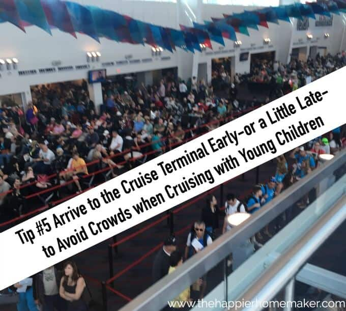 avoid crowds when cruising