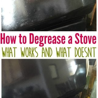 How to Degrease a Stove