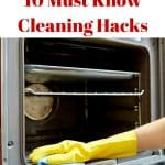 10 must know cleaning hacks that will save you time and solve problems you had given up on! Awesome cleaning tips and tricks here!