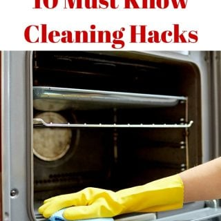10 Must Know Cleaning Hacks