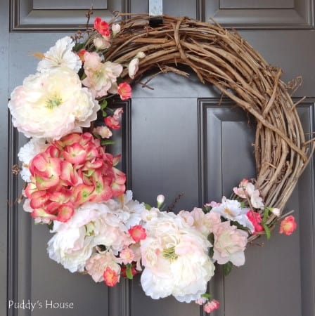 DIY-Spring-Wreath-2014-after-on-front-door-448x450