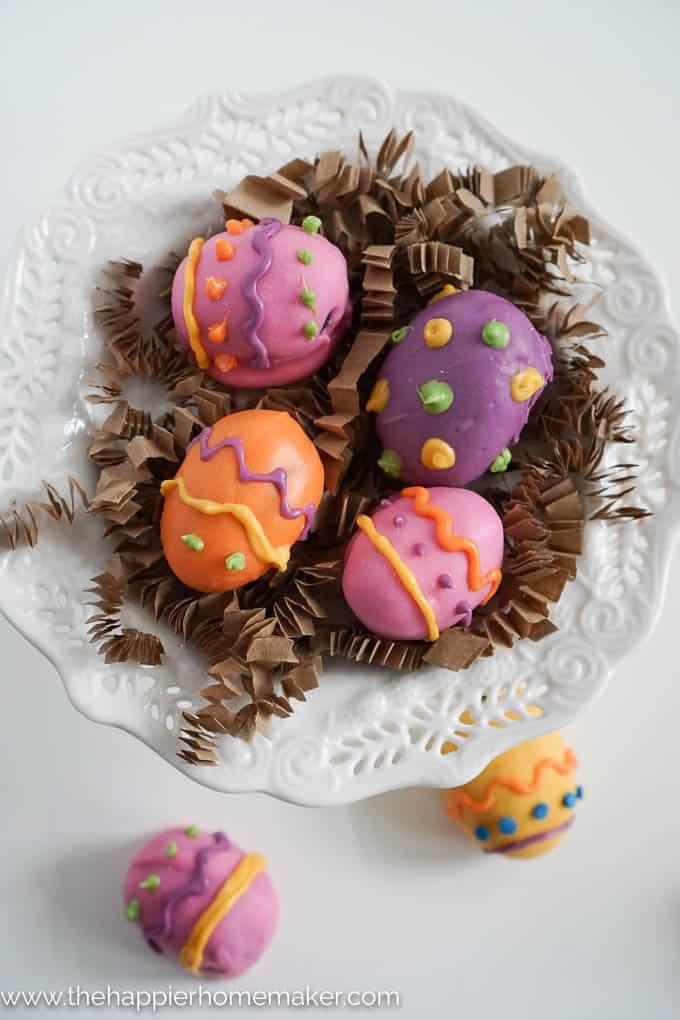 Easter Egg Oreo Truffles-2