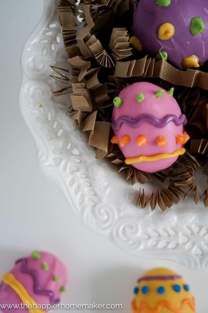 Easter Egg Oreo Truffles-3