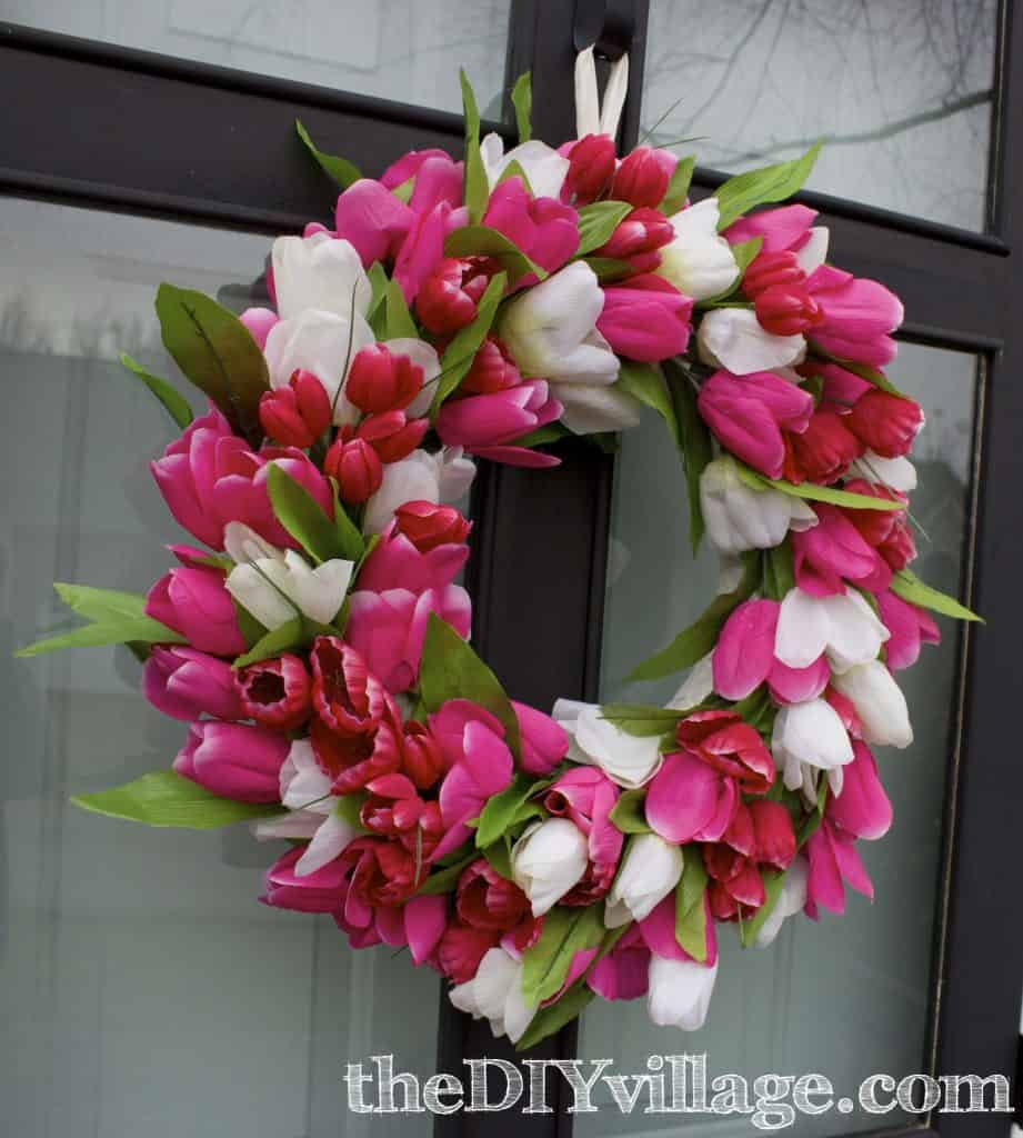 Tulip_Spring_Door_Wreath