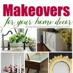 Amazing thrift store transformations-decorate your home on the cheap, so much inspiration here!!