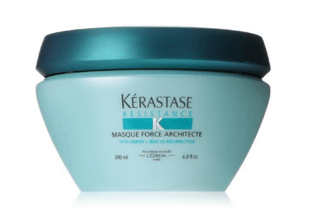 If you have damaged hair Kerastase Force Architecte is amazing! This totally saved my mid-back length hair after years of abuse!