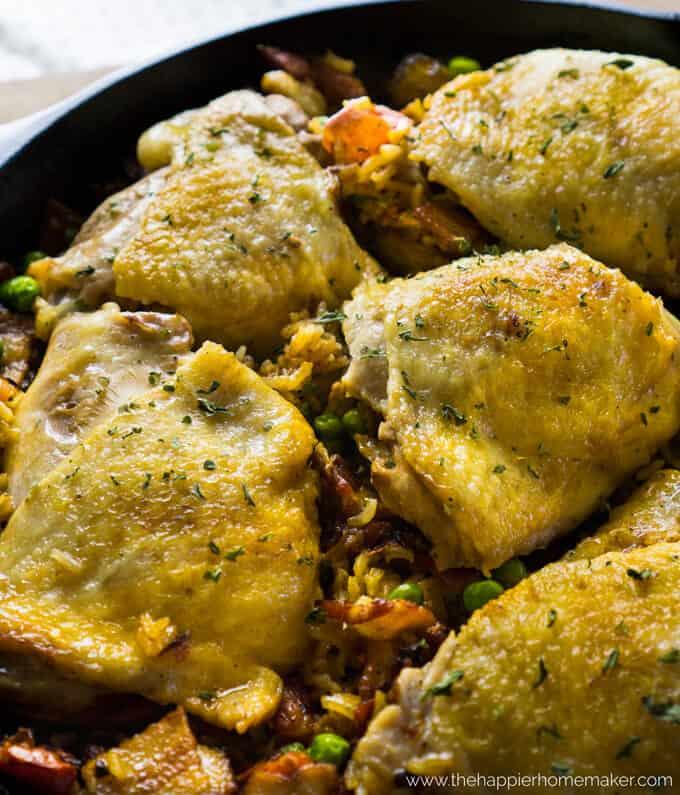 one-pot-chicken-rice