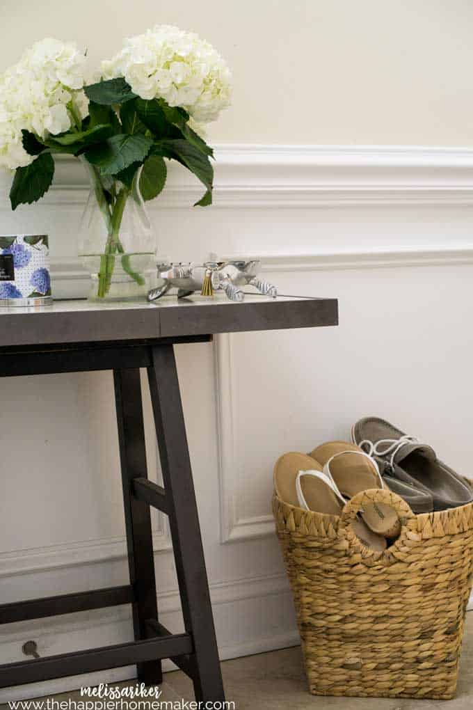 A home with a clean slate is so nice when moving-here are some cleaning tips to help you  maintain that new home clean feeling no matter how long you've been in your home!