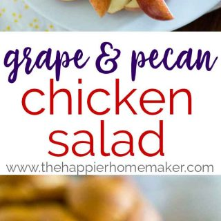 Grape & Pecan Chicken Salad Recipe