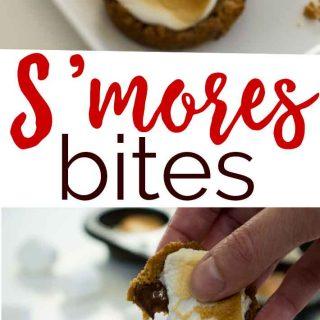 Indoor Baked S'mores Bites