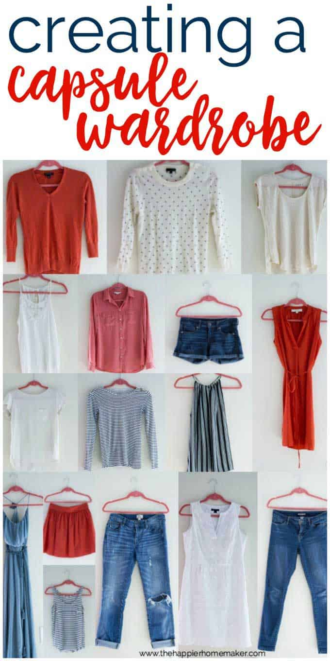 A collage of women\'s clothes hanging on pink hangers