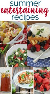 Tons of recipes that are perfect for hosting a summer BBQ or any kind of summer entertaining!