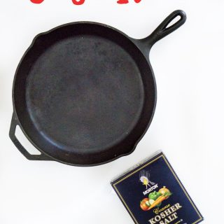 Easy step by step guide to clean and season cast iron cookware-also what to do if your cast iron gets rust on it, I needed this for my cast iron skillet!