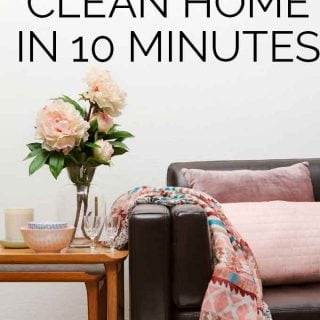 How to Fake a Clean House in 10 Minutes