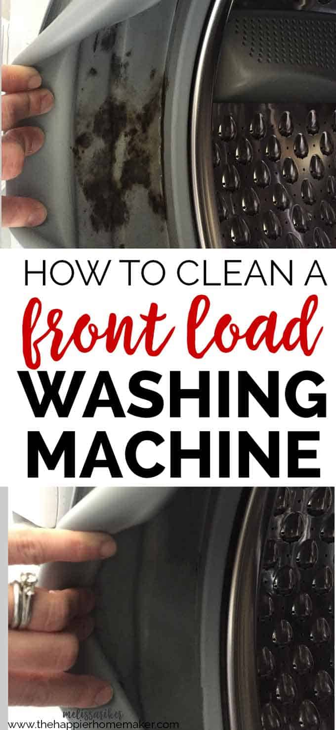 front load washing machine cleaner