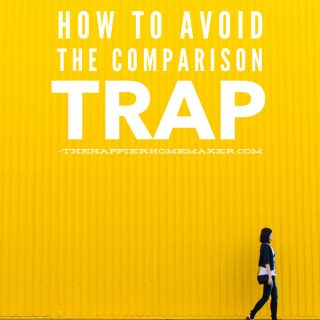 How to avoid comparing your life to others and get your finances on track so you can accomplish your goals!