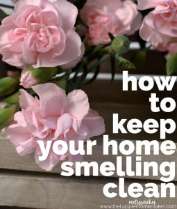 Five easy ways to keep your home smelling clean and fresh!