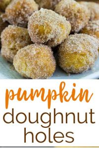pumpkin donut holes recipe