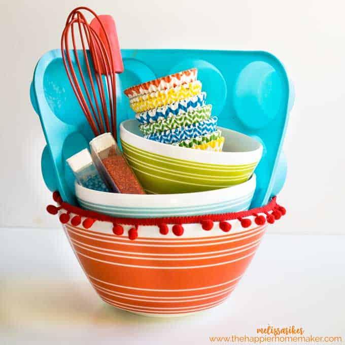 Baking Gift Basket | The Happier Homemaker