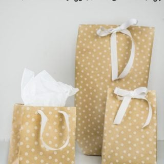 DIY Gift Bags from Wrapping Paper