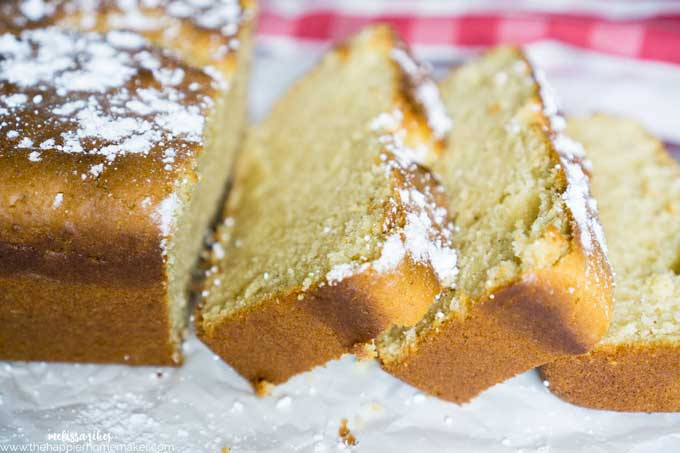 Easy Eggnog Bread is a classic quickbread recipe with a fun holiday twist! Moist, flavorful and always a hit!