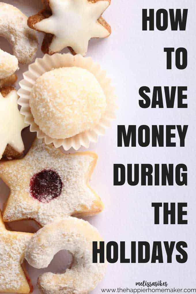 Five easy tips to help you save money this holiday season!