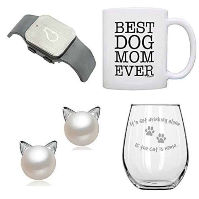 collage of dog lover gifts