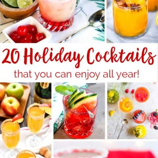 20+ Holiday Cocktails