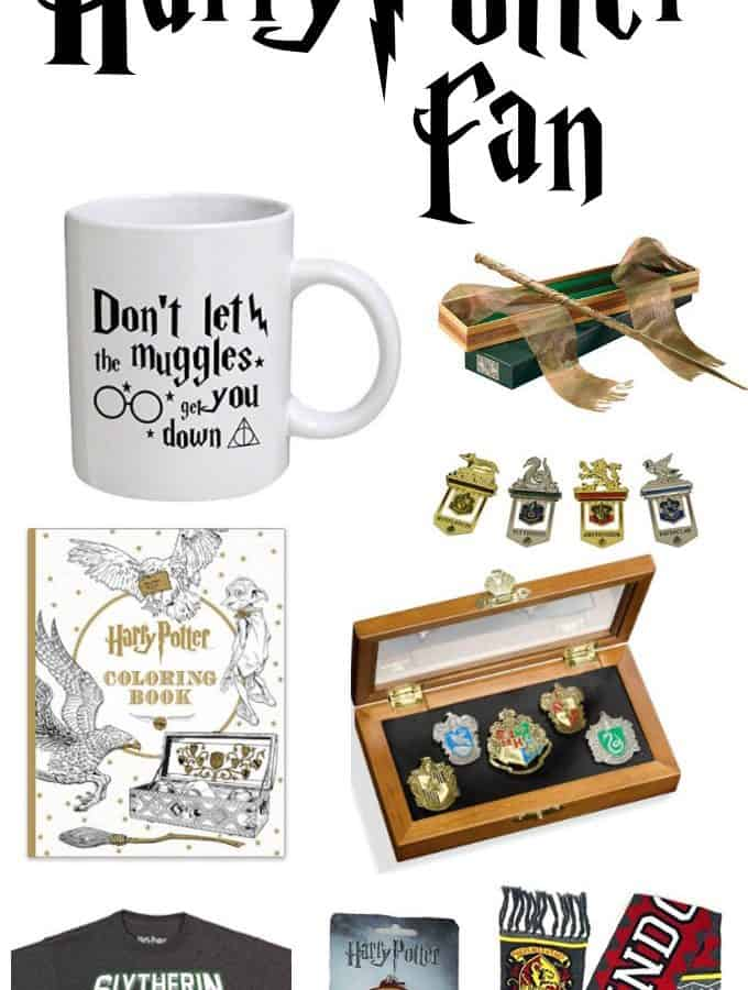 Over 40 gifts that any Harry Potter fan will love!
