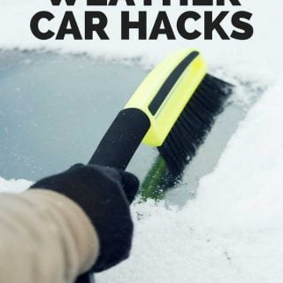 Don't let cold, snowy weather get you down-these cold weather car hacks will help you make life easier when winter weather hits.