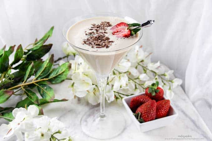 There isn't much better drink for your sweet tooth than a Chocolate Martini and this recipe takes the classic cocktail to the next level!