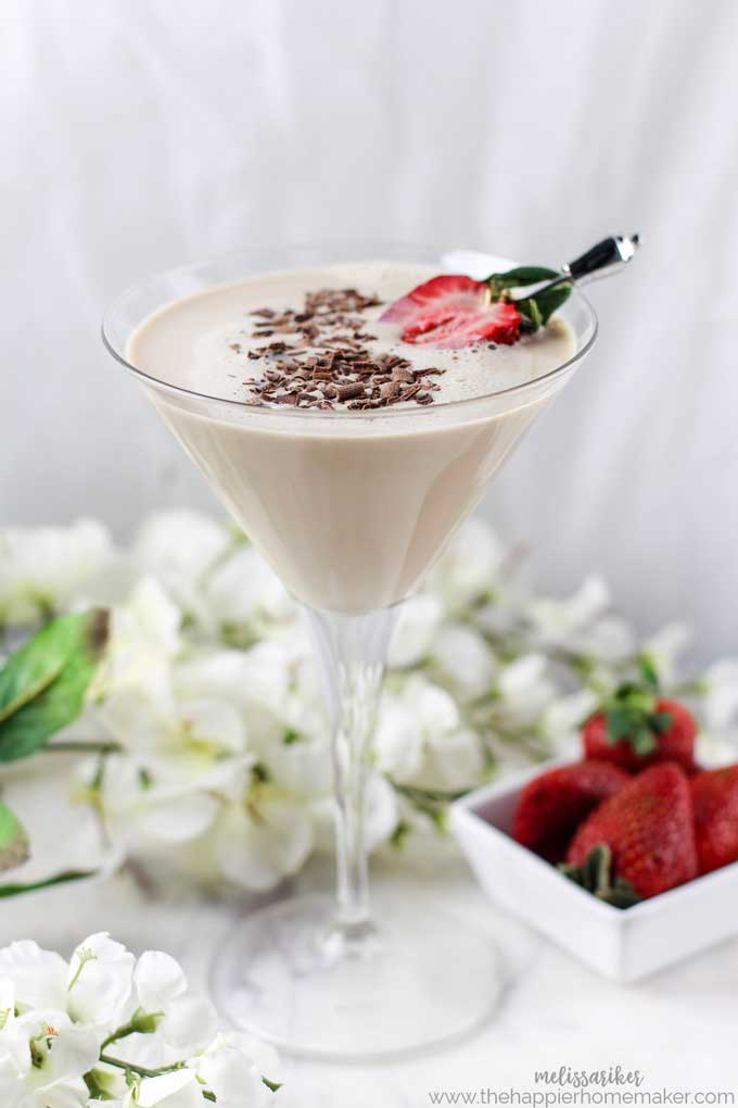 There isn't much better drink for your sweet tooth than a Godiva Chocolate Martini and this recipe takes the classic cocktail to the next level!