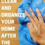 Tips to get your home back in order after the holidays