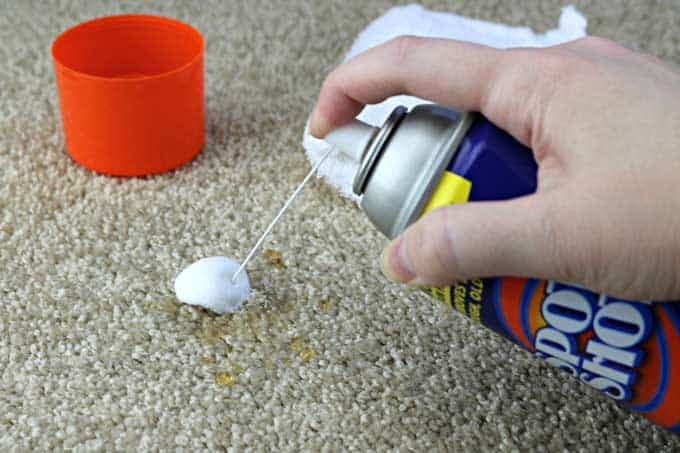 Spot Shot is my favorite carpet cleaning tool-it gets the stains out every time!