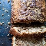 Swirled Cinnamon Bread is a melt in your mouth delicious-almost cake like quickbread recipe!