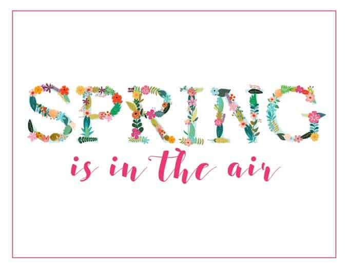free spring printable art colors to fit any home decor