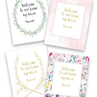 Free Guest Wifi Printables